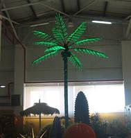 Светодиодная Пальма 3 м зеленая