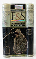 Чай F&S CARTE DE LA CEYLAN (Карта Цейлона) - чёрный среднелистовой чай с типсами, 150г