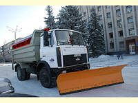 Отвал для уборки снега для автомобиля КАМАЗ, МАЗ, КРАЗ