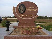 Памятник из красного гранита № 986