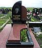 Памятник из красного гранита № 992