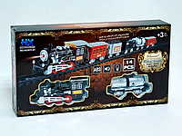 """Железная дорога """"Классическая"""" HX2011-01, детская железная дорога, железная дорога игрушка для детей"""