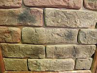 """Декоративный камень """"средневековый кирпич"""" коричневый"""