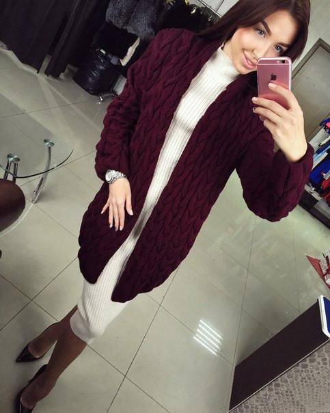 """Вязаная кофта, кардиган -  """"Your Style"""" - производитель женской одежы в Харькове"""