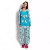 Пижама женская на байке