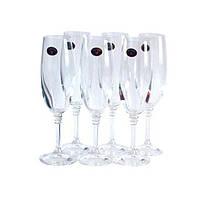 Бокалы для шампанского Olivia 190мл Bohemia