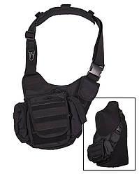 "Сумка мультифункциональная ""sling bag"" (black) mil-tec sturm (Германия)"