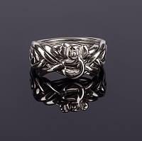 Восхитительное серебряное кольцо-головоломка  от Wickerring, фото 1