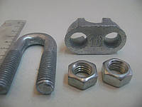 Зажим для троса DIN 741.16 мм