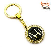 """Брелок для ключей автомобиля  """" Honda """" (золото)"""