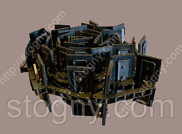 Транспортер скребковий 8.4 м ЗМ 60 цент.завантаж, фото 2