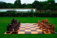 Деревянные шахматы от производителя