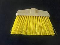 Щетка желтая для улицы без ручки