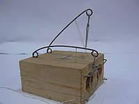 Мышеловка деревянная норка двойная
