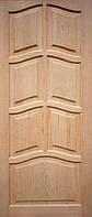 Двери сосна, массив