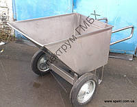 Рикша усиленная, тележка для перевозки творога, фото 1