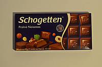 Шоколад молочный Schogеtten Praline Noisettes ( с Ореховой нугой) 100 грамм Германия