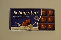 Шоколад молочный Schogеtten Alpine milk chocolate 100 грамм Германия
