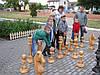 Садовые шахматные фигуры