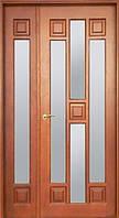 Межкомнатные двери из сосны, двухстворчатые