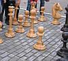 Напольные шахматные фигуры
