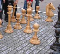 Напольные шахматные фигуры, фото 1