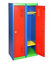 Шкаф одёжный, детский ШОД-400/2 (ВхШхГ - 1300х800х350)