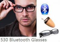 Скрытый беспроводный микронаушник для экзаменов  в виде очков «Элита-люкс + очки»  4 штуки