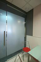 Стеклянные офисные перегородки, изготовление, установка
