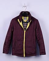 Весення стеганная куртка для мальчика ТМ BoGi