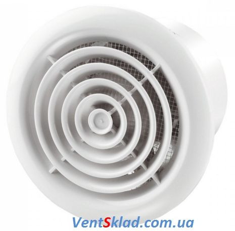 Вентилятор на потолок до 185 м3/час Вентс 125 ПФ
