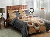 Семейное постельное белье  TAC DELUX-Satin 70х70 ASPEN V01