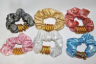 Резинки для волос с кольцами (12 шт)