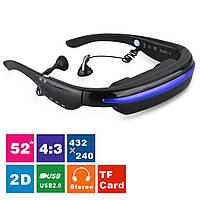 52-дюймовые автономные видео очки виртуальной реальности ― мобильный кинотеатр (мод. Karlton 2), фото 1