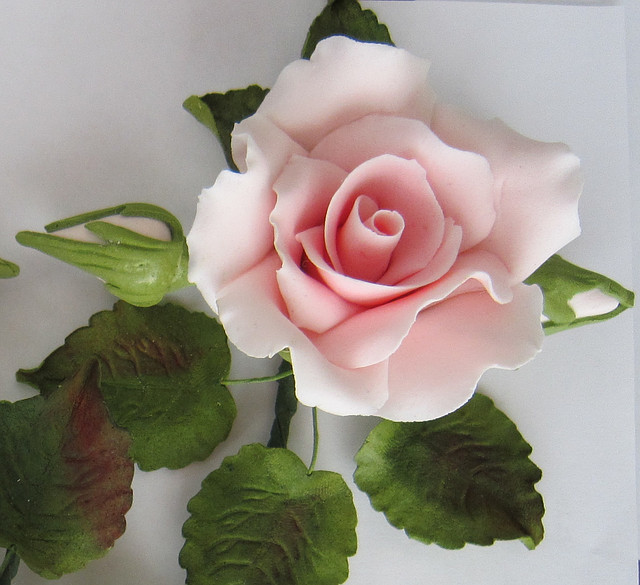 "Роза оформленная ""розовая"" d120см. Украса - 01143"