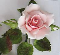 """Роза оформленная """"розовая"""" d120см.(код 01143)"""