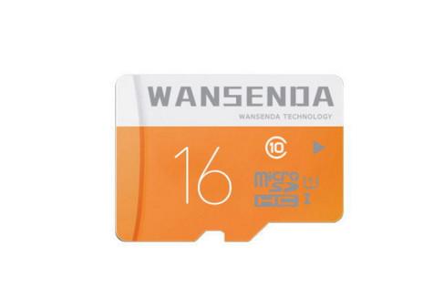 Карты памяти 16 ГБ.Wansenda.класс-10,+адаптер