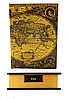 Шкатулка-сейф Карта книга- тайник 34см