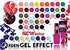 Лак для ногтей Jerden gel effect 9мл в ассортименте
