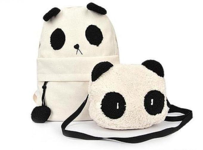 Рюкзак и сумка Панда (2 в 1)