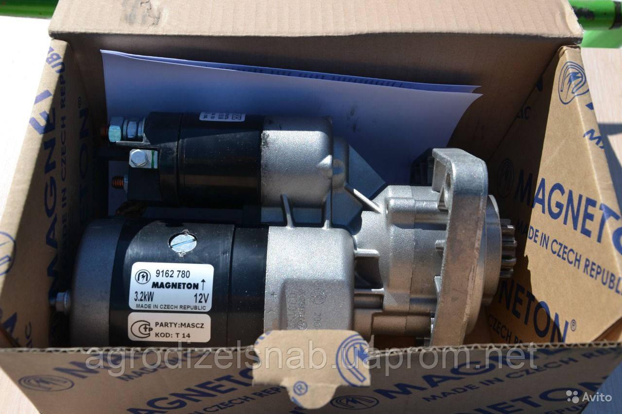 Стартер редукторный 12В 3,2 кВт МТЗ Магнетон (Чехия) 9162 780 (усилинный)