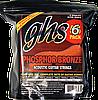 Струны GHS S325 Phosphor BronzeLight 12-546 Sets
