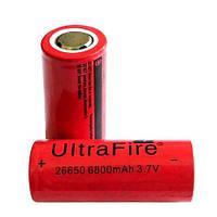 Аккумулятор UltraFire Li-ion 26650 6800mAh 3.7V