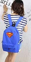 Крутые рюкзаки Супермен `S`, фото 3