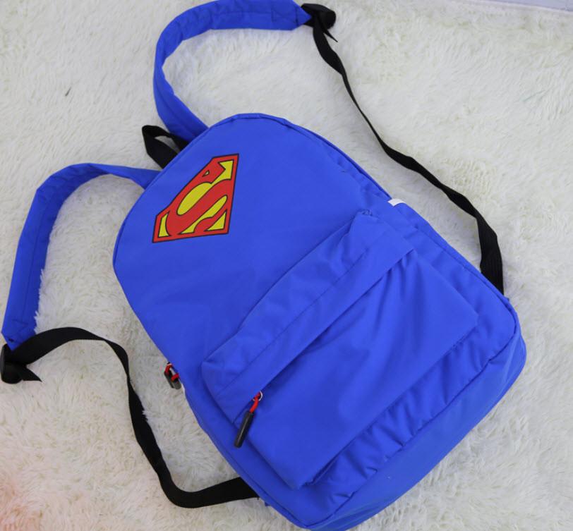 Крутые рюкзаки Супермен `S`