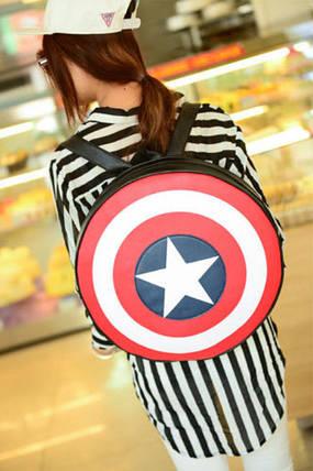 Рюкзак Щит Капитана Америки, фото 2