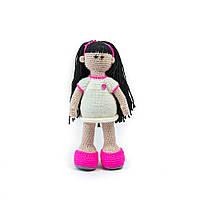 Сувенирная Вязаная кукла ручной работы Магда