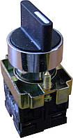 XB2-BD33 Кнопка поворотная 3-х поз. Станд. ручка