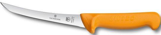 Долговечный кухонный обвалочный нож Victorinox Swibo 58406.16 желтый