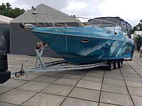 Прицеп для катера. Длина катера 9 м, вес катера 4 тонны.